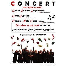 Concert 11 d'abril 2015