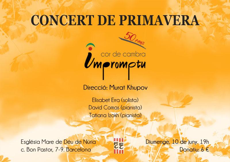 Concert de Primavera 2018