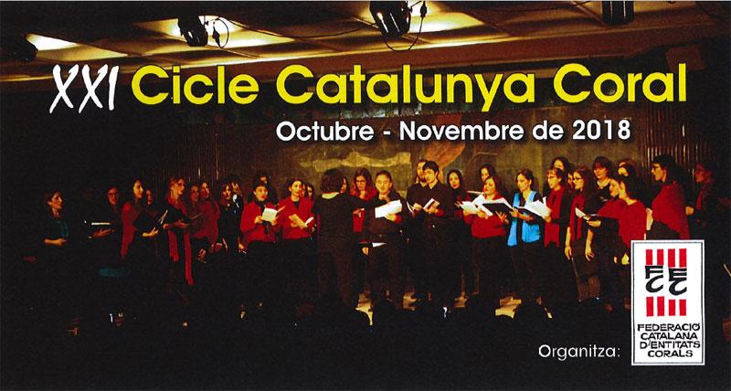 """10 de novembre 2018: Concert """"Catalunya Coral"""" a Alforja"""